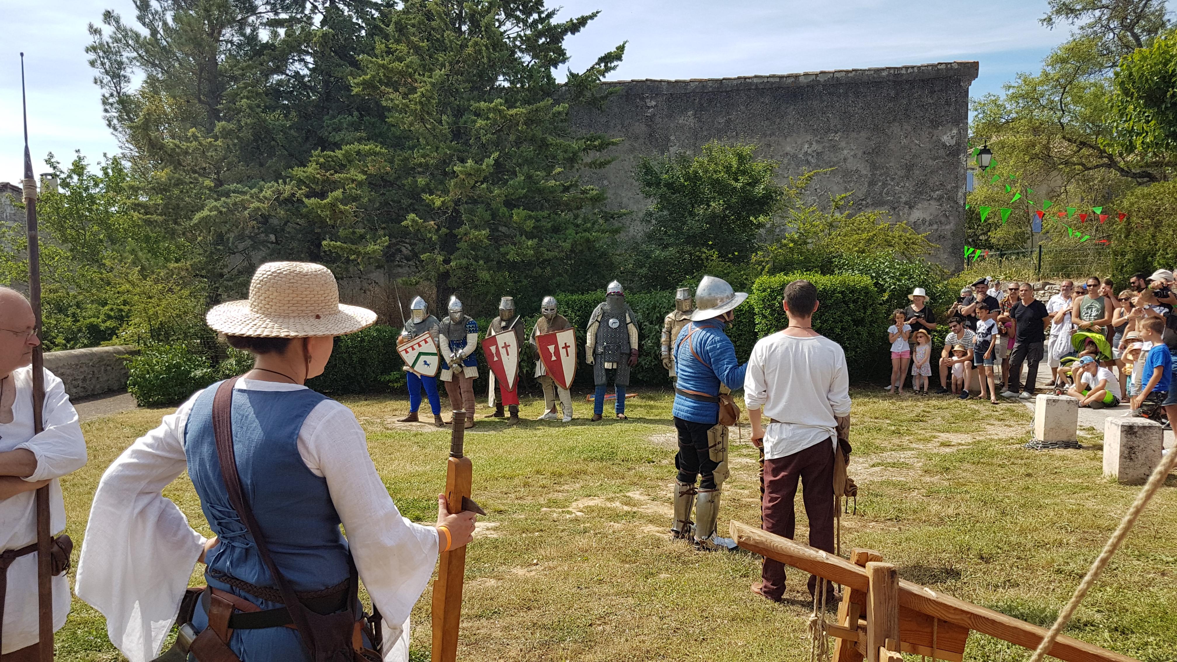 Médiévale de Lussan juin 2019